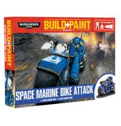 Space Marine Bike Attack