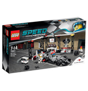 Speed Champions McLaren Mercedes Pit Shop