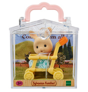 Baby Carry Case Milk Rabbit on Pushchair