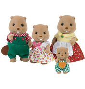 Beaver Family Figures