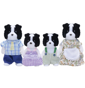 Border Collie Family Figures