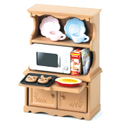 Cupboard with Oven