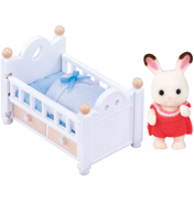 Chocolate Rabbit Baby Set