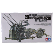 Tamiya 20mm Flakvierling 38 Model Set (Scale 1:35)