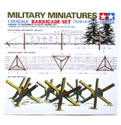 Tamiya Barricade Set (Scale 1:35)