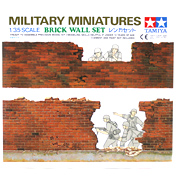 Tamiya Brick Wall Set (Scale 1:35)