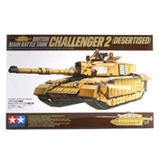 British MBT Challenger 2 (Desertised) (Scale 1:35)