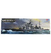 British Battleship King George V (Scale 1:350)