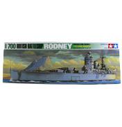 British Battleship Rodney (Scale 1:700)