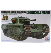 Churchill Mk.VII Tank (Scale 1:35)