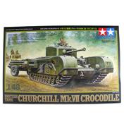 British Tank Churchill Mk.VII Crocodile (Scale 1:48)