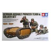 German Assault Pioneer Team & Goliath Set (Scale 1:35)