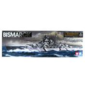 German Battleship Bismarck (Scale 1:350)