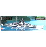 German Battleship Tirpitz (Scale 1:350)
