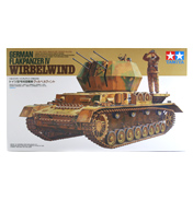 German Flakpanzer IV Wirbelwind (Scale 1:35)