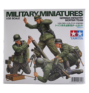 German Infantry Mortar Team (Scale 1:35)