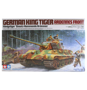 German King Tiger Ardennes Front (Scale 1:35)