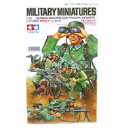 German Machine Gun Troops (Scale 1:35)