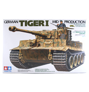 German Tiger I Mid Production (Scale 1:35)