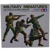 US Army Infantry Figures (Scale 1:35)
