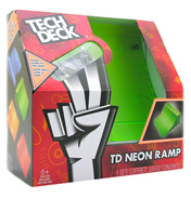 Tech Deck Neon Green Ramp QUARTER PIPE