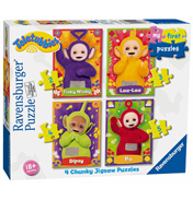 Ravensburger Teletubbies My First Puzzle 4 Chunky…
