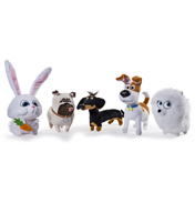"The Secret Life of Pets 6"" Plush Buddy SNOWBALL"