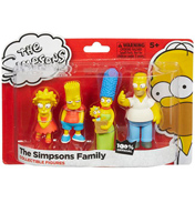 The Simpsons Family Figure Pack