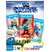 Pressman The Smurfs Old Maid Card Game