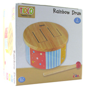 Tidlo Timeless Toys Rainbow Drum