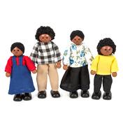 Black Doll Family
