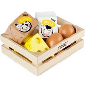 Tidlo Toys Eggs & Dairy Wooden Toys