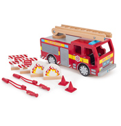 Fire Engine & Accessories Set
