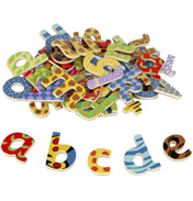 Tidlo Toys Magnetic Wooden Lowercase Letters