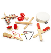 Musical Instruments (Red)