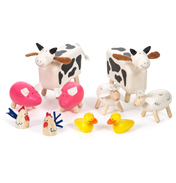 Tidlo Toys Wooden Farm Animals
