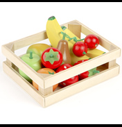 Tidlo Toys Wooden Fruit Salad