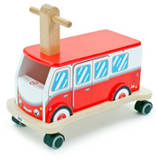 Tidlo Toys Ride-On Wooden Campervan
