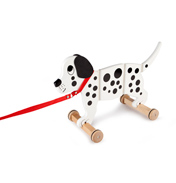 Tidlo Toys Wooden Wiggly Dog