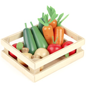 Tidlo Toys Wooden Winter Vegetables