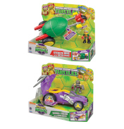 Half Shell Heroes Deluxe Vehicle & Figure