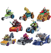 TMNT T-Machines Vehicles MIKEY IN HOT ROD