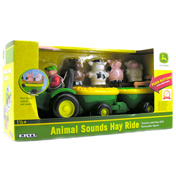 ERTL John Deere Animal Sounds Hay Ride
