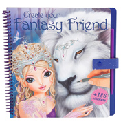 Create Your Fantasy Friend Colouring Book