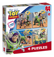 Toy Story 4 in 1 Puzzle