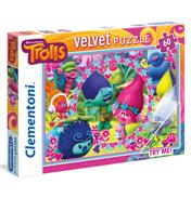 Clementoni Dreamworks Trolls 60 Piece Velvet…