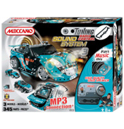 Tuning Remote Control Sound System Blue Car