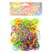 Loom Twister Neon Bands Set (300 Pack)