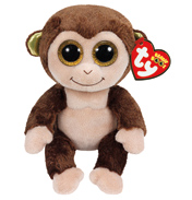 Beanie Boos Audrey the Monkey