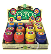 House of Marbles Wooden Yo-Yo (ASSORTED)